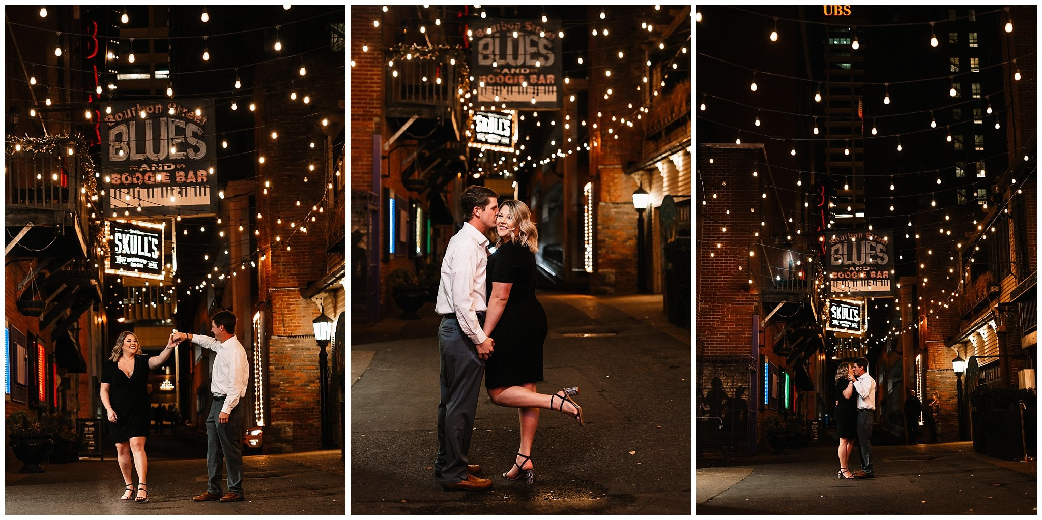 Printers alley engagement session - Charlene Mann Photography